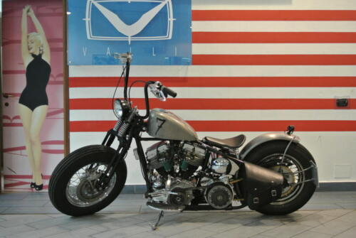 1955 Bobber Panhead by American Dreams Italy Motorcycles
