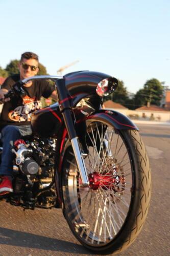 Angelo Lanciano Bagger Bloody Mary ruota anteriore