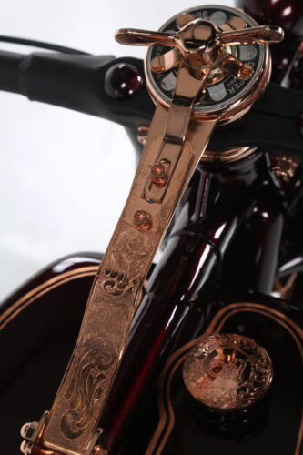 Dettaglio Incisione Indian Scout 1927 Iceman Boardtracker