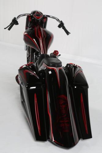 Dettaglio posteriore Bagger Bloody Mary