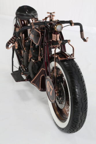 Frontale Indian Scout 1927 Iceman Boardtracker