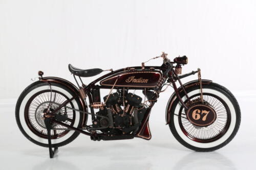 Indian scout 1927 Iceman Boardtracker lato destro