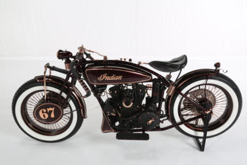 Indian scout 1927 Iceman Boardtracker lato sinistro