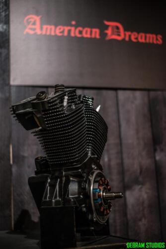 Motore Nero Opaco American Dreams Italy Motorcycles