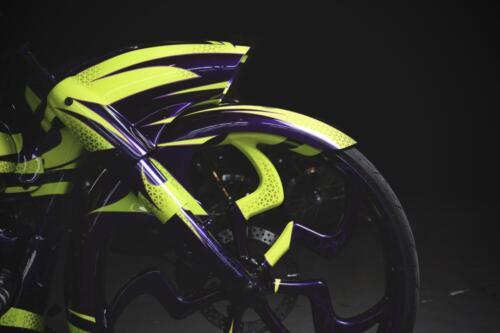 Ruota anteriore Bagger Purple Haze